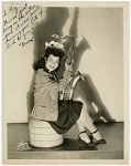 "[Rosita, member of ""Sweethearts"", undated.] [Black-and-white photoprint]"