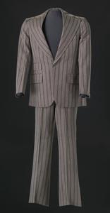 Brown pin-striped suit worn by Sammy Davis Jr.