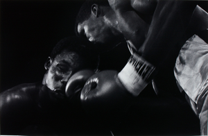 Boxers sparring, Atlantic City, New Jersey