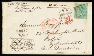 Letter from Eliza Wigham, Edinburgh, to Samuel May, 15.12.1860