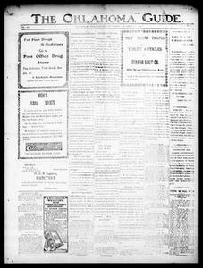 The Oklahoma Guide. (Guthrie, Okla.), Vol. 20, No. 19, Ed. 1 Thursday, October 5, 1911 The Okla. Guide