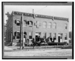 [Exterior view of the Topeka Pure Milk Company building]