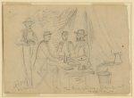 The three princes, camp at Yorktown