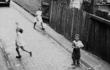 Jasper Wood Collection: Three Children in Alley