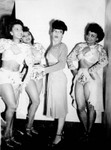 Marie Bryant and dancers