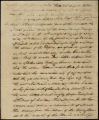 William H. Crawford letter to D. B. Mitchell, 1813