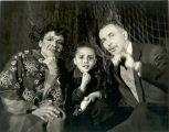 Katherine Dunham, Marie-Christine Dunham Pratt, and John Pratt