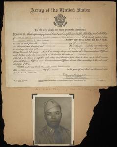 Earl Garfield Cunningham World War II scrapbook pages