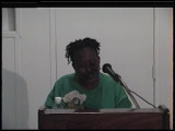 Fiction and Poetry Readings: Opal Palmer Adisa (1995)