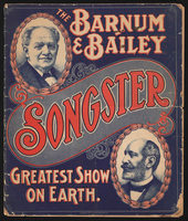 Songster: The Barnum and Bailey Greatest Show on Earth Songster