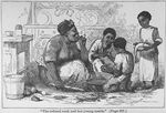 The colored cook and her young maids