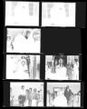 Set of negatives by Clinton Wright of Jerry Holloway's wedding, 1964