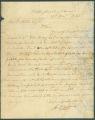 Letter from G. D. Callen to James Dellet in Claiborne, Alabama.