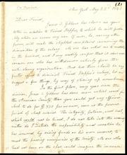 Letter to] Dear Friend [manuscript