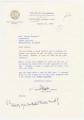 Letters from Bull Connor, president of the Alabama Public Service Commission, to Agnes Baggett, state treasurer.