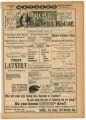 """La Belle Marie"" theater program, Bijou Opera House, Minneapolis, Minnesota"