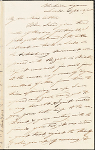Letter from Joseph Lupton, Leeds, [England], to Mary Anne Estlin, 1850 Sept[ember] 13