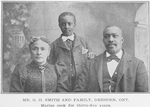 Mr. G. H. Smith and family, Dresden, Ont.; Marine cook for thirty-five years