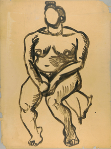 Thumbnail for Seated Female Nude