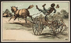 Trade card for the Acme Tea Company, J. Buckley, 92 Gorham Street, corner Charles, Lowell, Mass., 1884