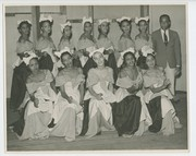 """1938 Muny production of """"Show Boat"""": portrait of African American chorus members"""