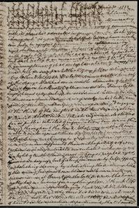 Letter from Mary Anne Estlin, Bristol, [England], to Anne Warren Weston, April 30, 1852