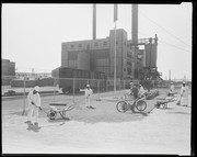 Clean-Up Squad at Monsanto Chemical Company Plant B in Monsanto, Illinois.