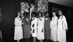 Business and Professional Women's Federation members group portrait, Los Angeles, 1983
