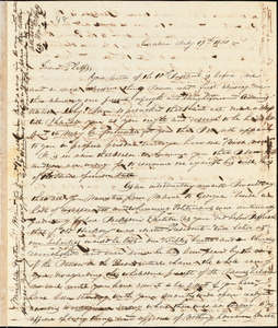 Letter from William P. Weeks, Canaan, [New Hampshire], to Amos Augustus Phelps, 1830 July 19