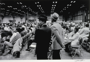 Untitled (Jacob Javits Convention Center, NYC), from the series Hats and Hat Nots