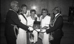 Dorothy H. Boswell receiving an Eastern Star award, Los Angeles, 1992