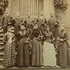 Knoxville College students, including two sons of President McCulloch