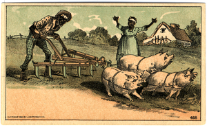 Trade card for the Acme Tea Company, as sold by J. Buckley, Lowell, Mass., 1884