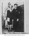 Mr. and Mrs. Clarence Williams, Seattle, ca. 1945