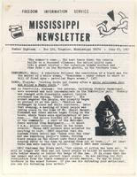 Mississippi Newsletter No. 18