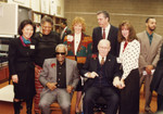 Ray Charles and Attendees of African American Living Legends Program