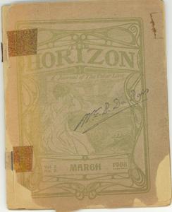 Horizon vol. 3, no. 3
