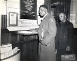 Thumbnail for African American soldier with an African American sailor during World War II