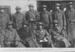 8th Reg., French war-cross winners; 1st-Lieut. Hurd; Lieut-Col. Duncane, Major White, Capt. Crawford, 1st-Lieut. Warfield and Capt. Smith, Capt. Allen, Lieut. Browning, Capt. Warner and 1st-Lieut. Tisdale