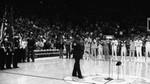Marvin Gaye Sings at NBA Game, Los Angeles, 1983