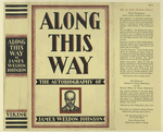 Along this way; the autobiography of James Weldon Johnson