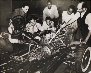 Student Mechanics (Hampton Institute, Hampton, Virginia), from the project The Negro in Virginia