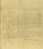 Letter from Charlotte to Samuel Cowles, 1839 November.