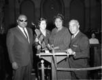 Mahalia Jackson at City Hall, Los Angeles, 1962