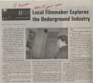 Local Filmaker Explores the Underground Industry