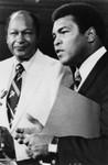 Mayor Tom Bradley and Muhammad Ali