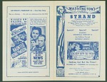 Washington's Birthday Gone With the Wind movie program
