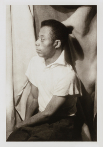 James Baldwin, from the portfolio 'O, Write My Name': American Portraits, Harlem Heroes