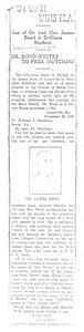 Bond, James, newspaper clippings