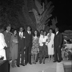 Men and Women at Event, Los Angeles, 1982